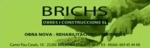 BRICHS I CONSTRUCCIONS, SL
